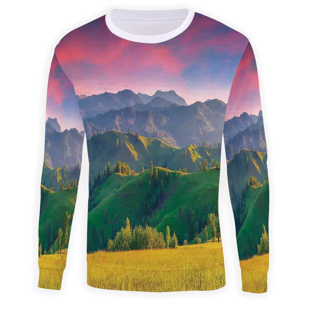 Unisex Nature Sweatshirts Crewneck