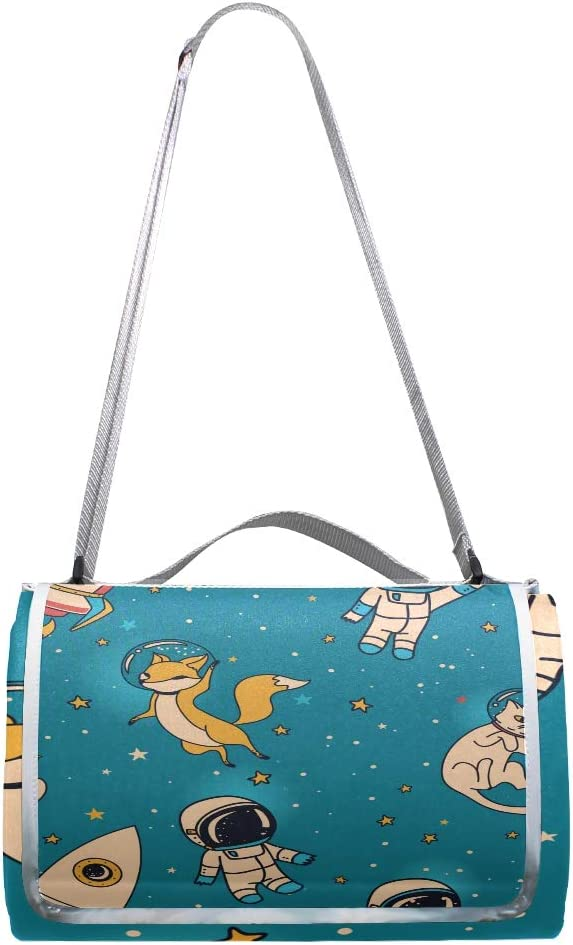XINGAKA Coperta da Picnic Tappetino Campeggio,Vettore Blu Fresco del Modello della Squama,Giardino Spiaggia Impermeabile Anti Sabbia 20