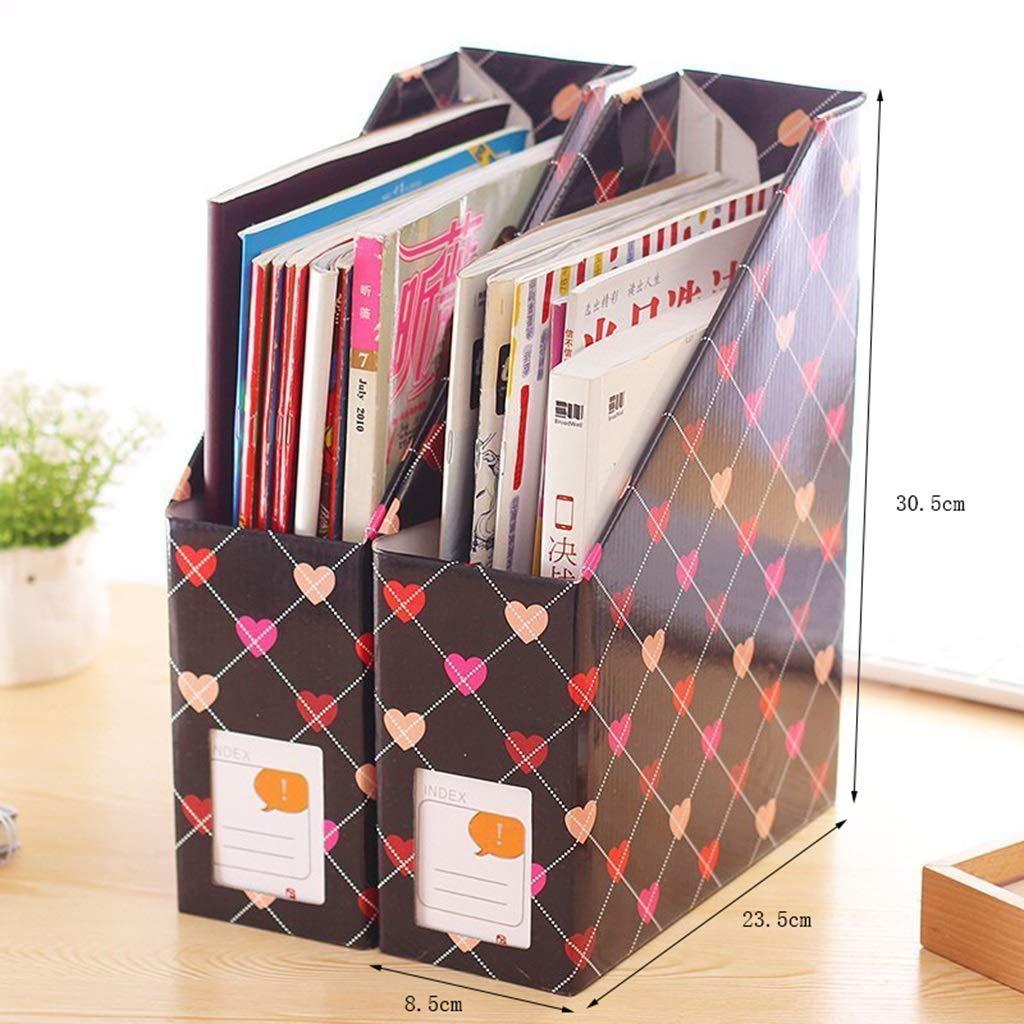 Dateihalter Dateihalter Dateihalter Bürobedarf Desktop Regal Bedside Magazin Sortierbox Dateikasten Office Datei Datenspeicher B07MZ15BKH | Maßstab ist der Grundstein, Qualität ist Säulenbalken, Preis ist Leiter  2f32e6