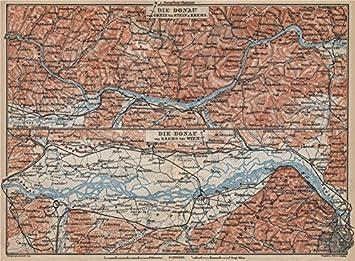 Amazon.com: DANUBE DONAU RIVER. Grein-Ybbs-Pochlarn-Melk-Spitz-Krems on lower austria, wien austria map, austria rail map, gmund austria map, grossglockner austria map, danube university krems, brussels austria map, althofen austria map, linz austria map, wiener neustadt austria map, budapest austria map, maria theresa of austria map, villach austria map, zell am see austria map, rohrau austria map, bregenz austria map, wiener neustadt, strasbourg austria map, eisenstadt austria map, ybbs an der donau, graz austria map, salzburg austria map, ternitz austria map, durnstein austria map,