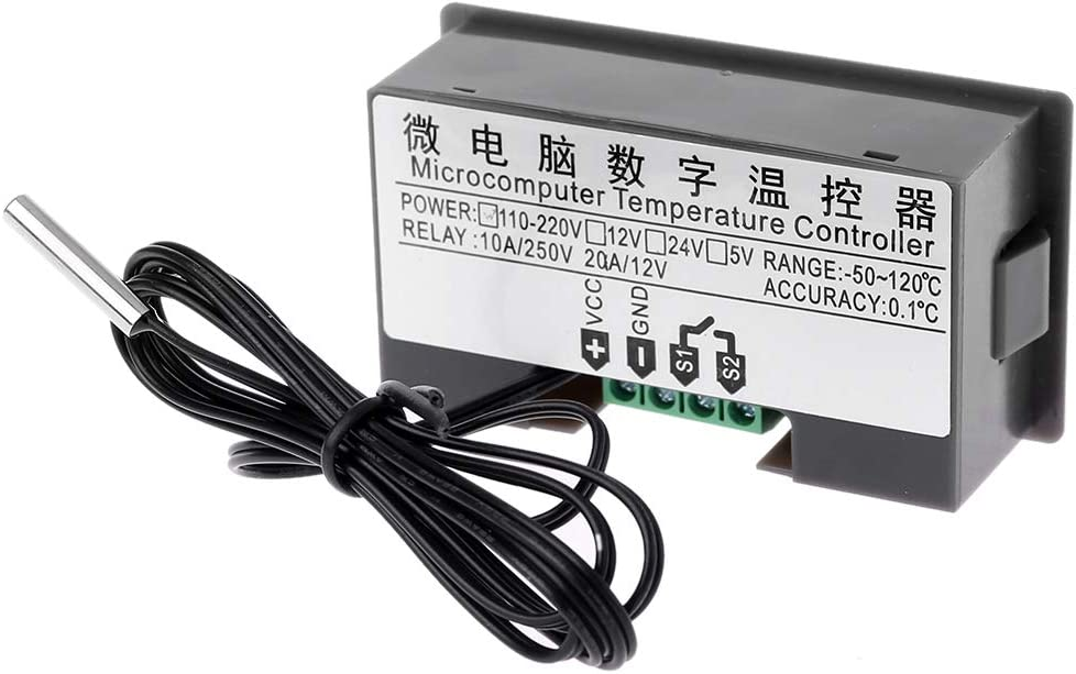 W3230 AC 110V 220V 20A Temperature Controller LED Regulator Thermostat Control