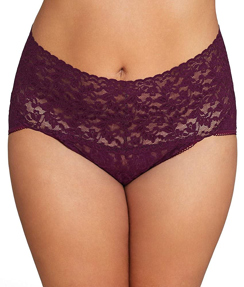 fe831f9593d4 Hanky Panky Women's Signature Lace Retro V-Kini at Amazon Women's Clothing  store: Hipster Panties