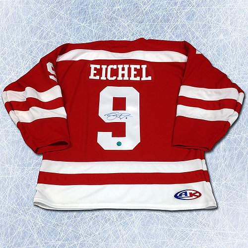 new concept 3e0c8 656e7 70%OFF Autographed Jack Eichel Boston University Terriers ...