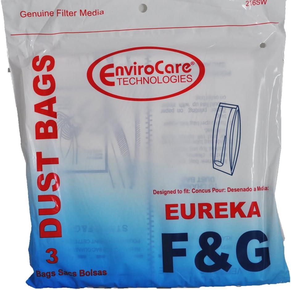 Eureka Style F /& G Vacuum Bags 3 Per Pack