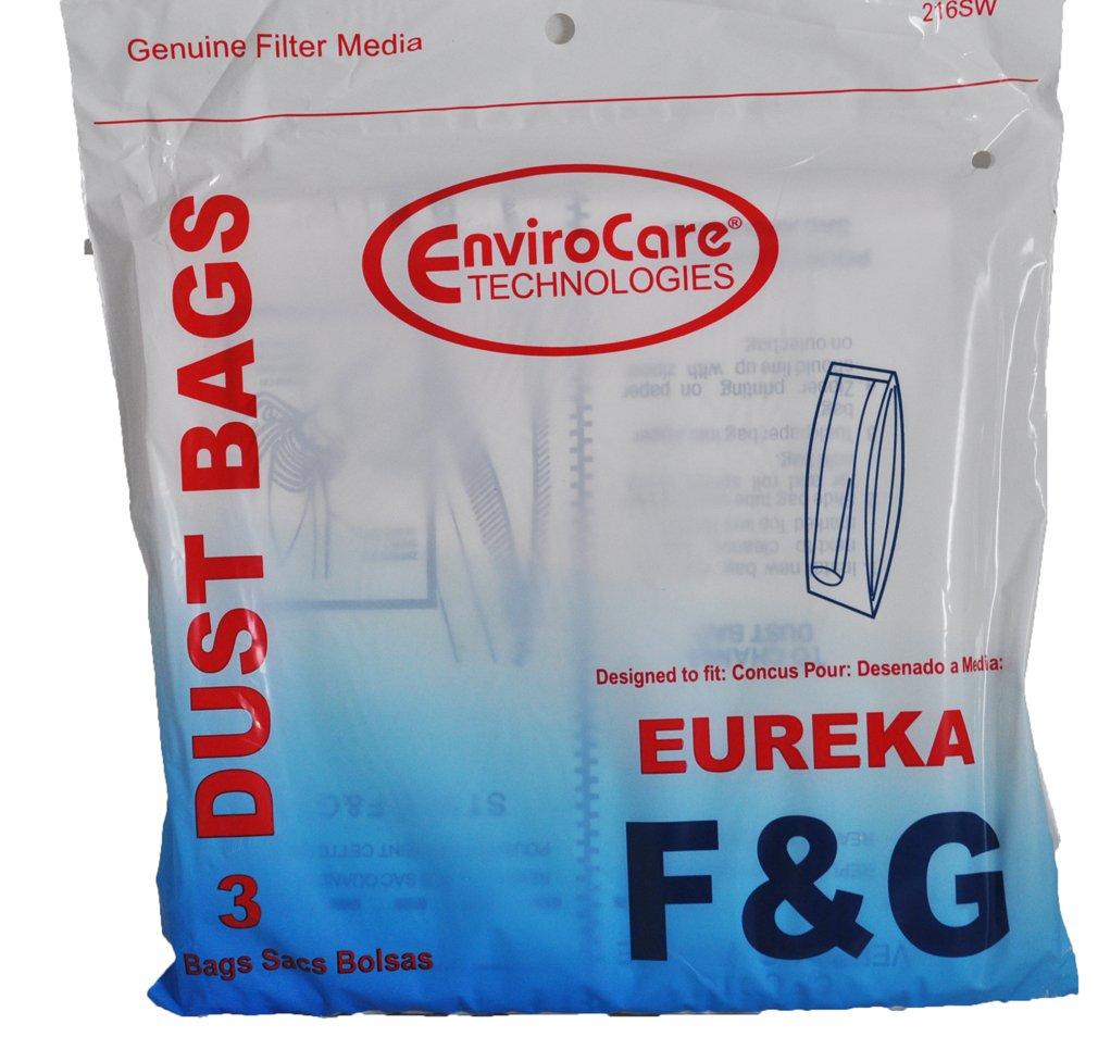 Eureka Style F & G Vacuum Bags, 3 Per Pack