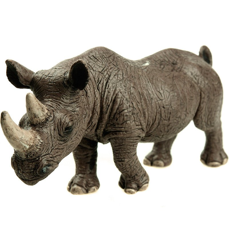 A Schleich Rhinoceros Figurine Toy Figure