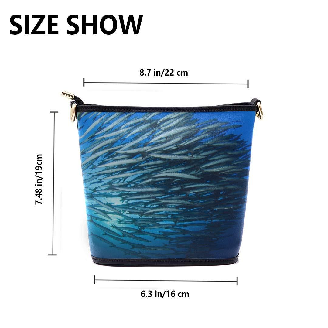 Travel Shoulder Bags Coral Reef Sea Fish Multi-functional Wristlet Zipper Pocket Small Wristlet Shoulder Bags Men Fashionable Travel Bag For Women Mens Messenger Shoulder Bag