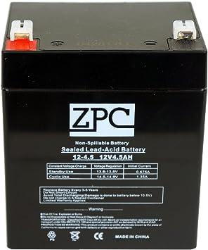 Amazon.com: ZPC Batería de 12 V 4.5 Ah 5 Ah Razor E100 ...