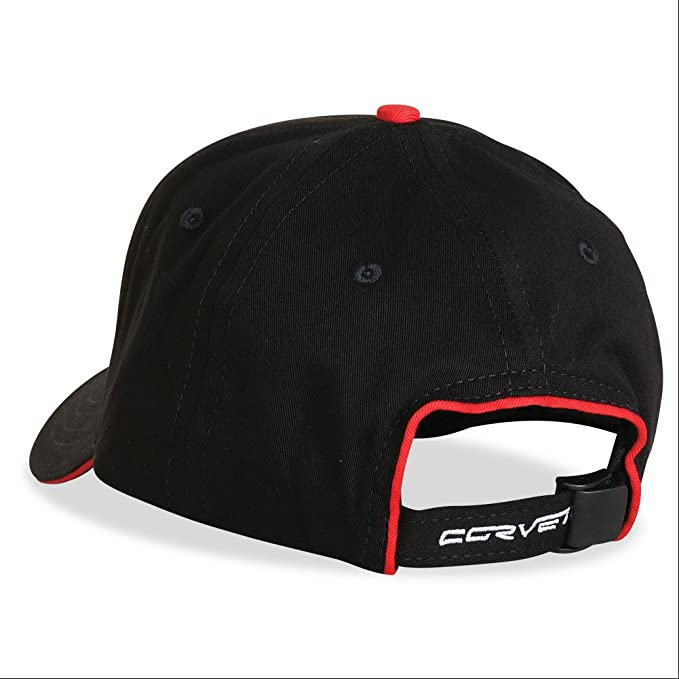 Exterior Color Matched with C6 Logo C/&W Corvette Hat