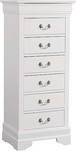 Glory Furniture Lingerie Chest - the best bedroom dresser for the money