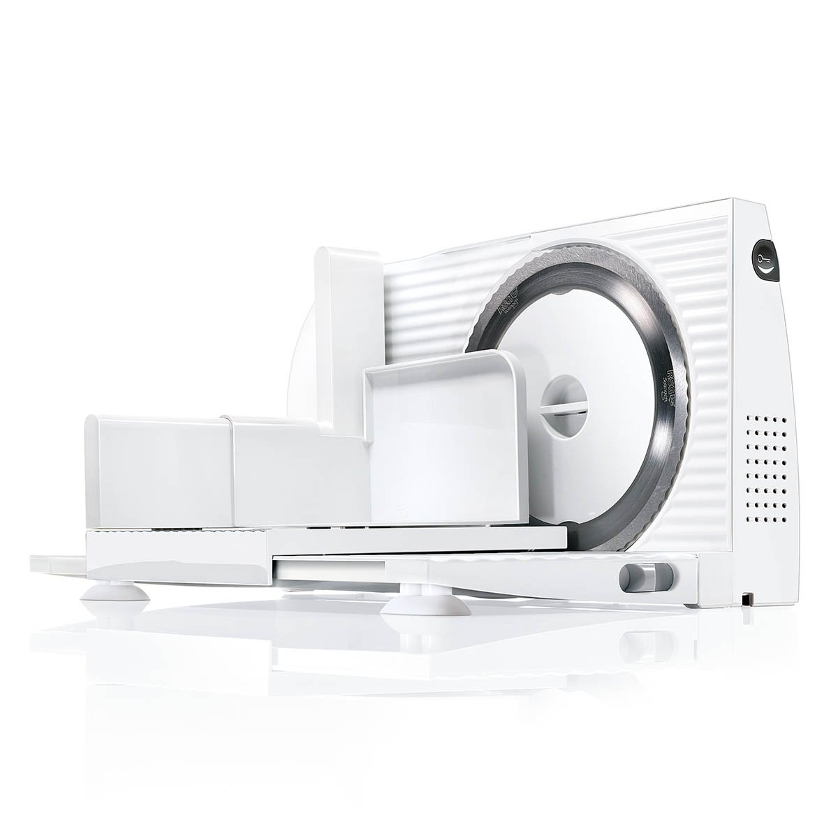 Bosch MASW Eléctrico W De plástico Color blanco rebanadora Cortafiambres De plástico