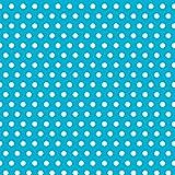 Amscan Classic Polka Dot Jumbo Gift Wrap, Blue, 16' x 30'