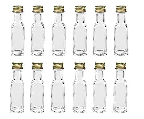 hocz - Botellas de Cristal vacías de 12/24 Piezas - Maraska ...