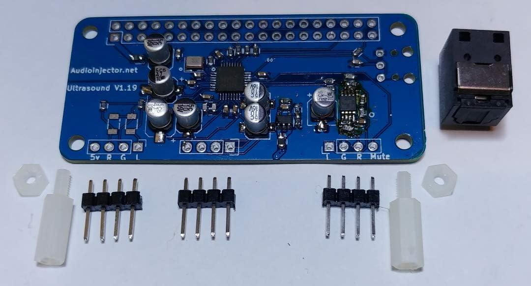 Audio Injector Ultra 2 Soundkarte f/ür Raspberry Pi