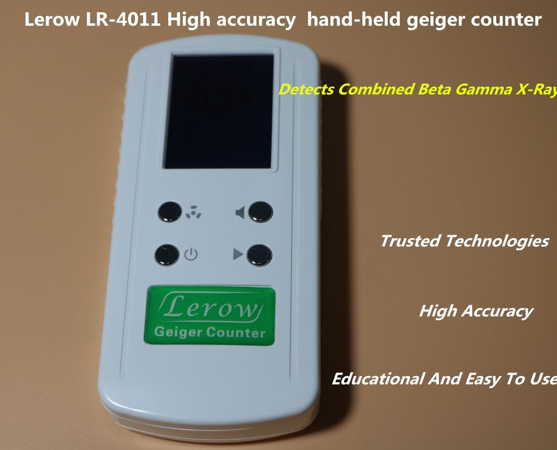 LR4011 High Accuracy Geiger Counter Nuclear Radiation Detector Personal Dosimeters