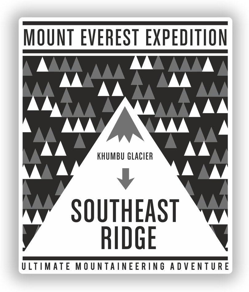 2 x Pegatinas de vinilo de Monte Everest equipaje de viaje # 10496: Amazon.es: Juguetes y juegos