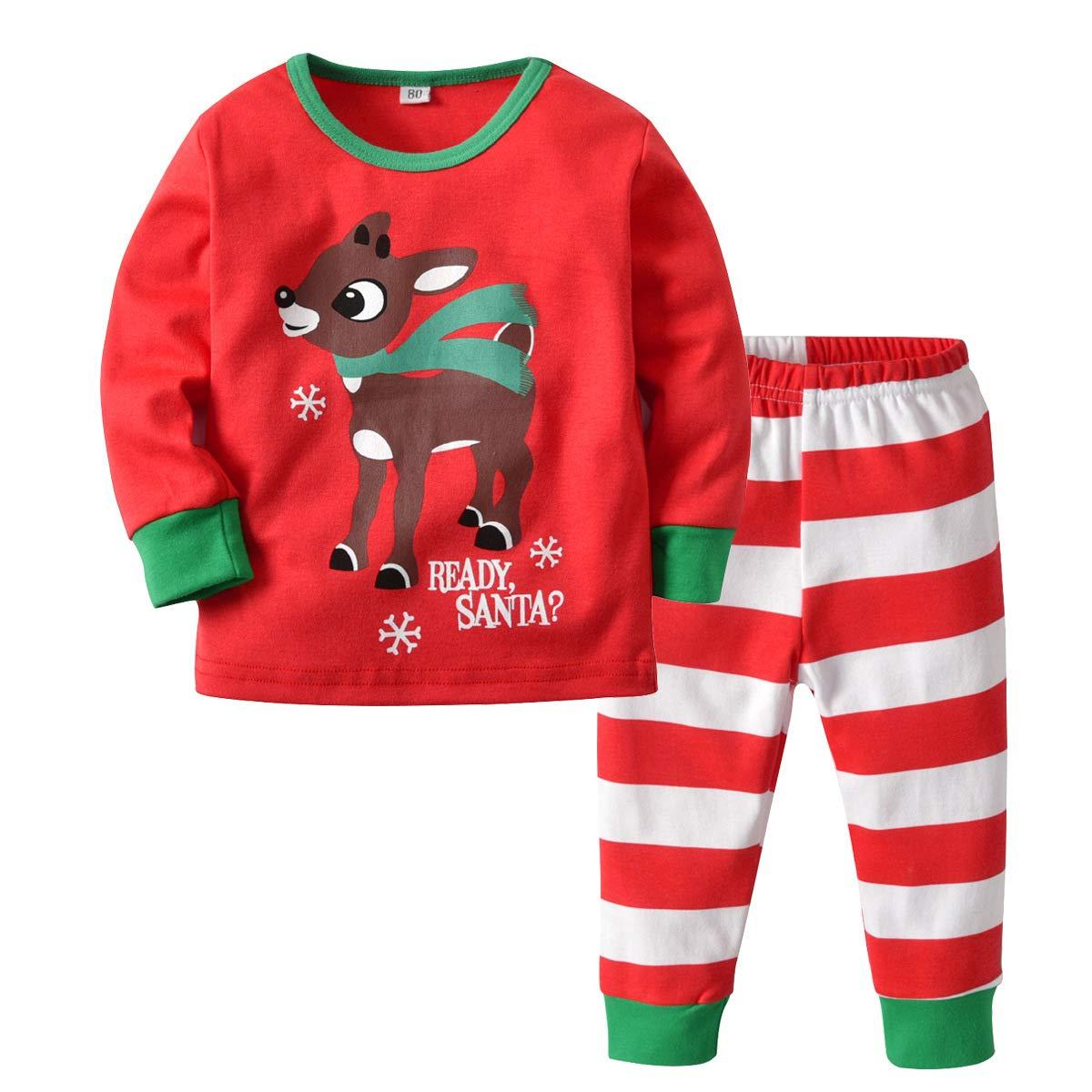 Kinder Jungen Bekleidung Weihnachten Mädchen Kostüm Langarm ...