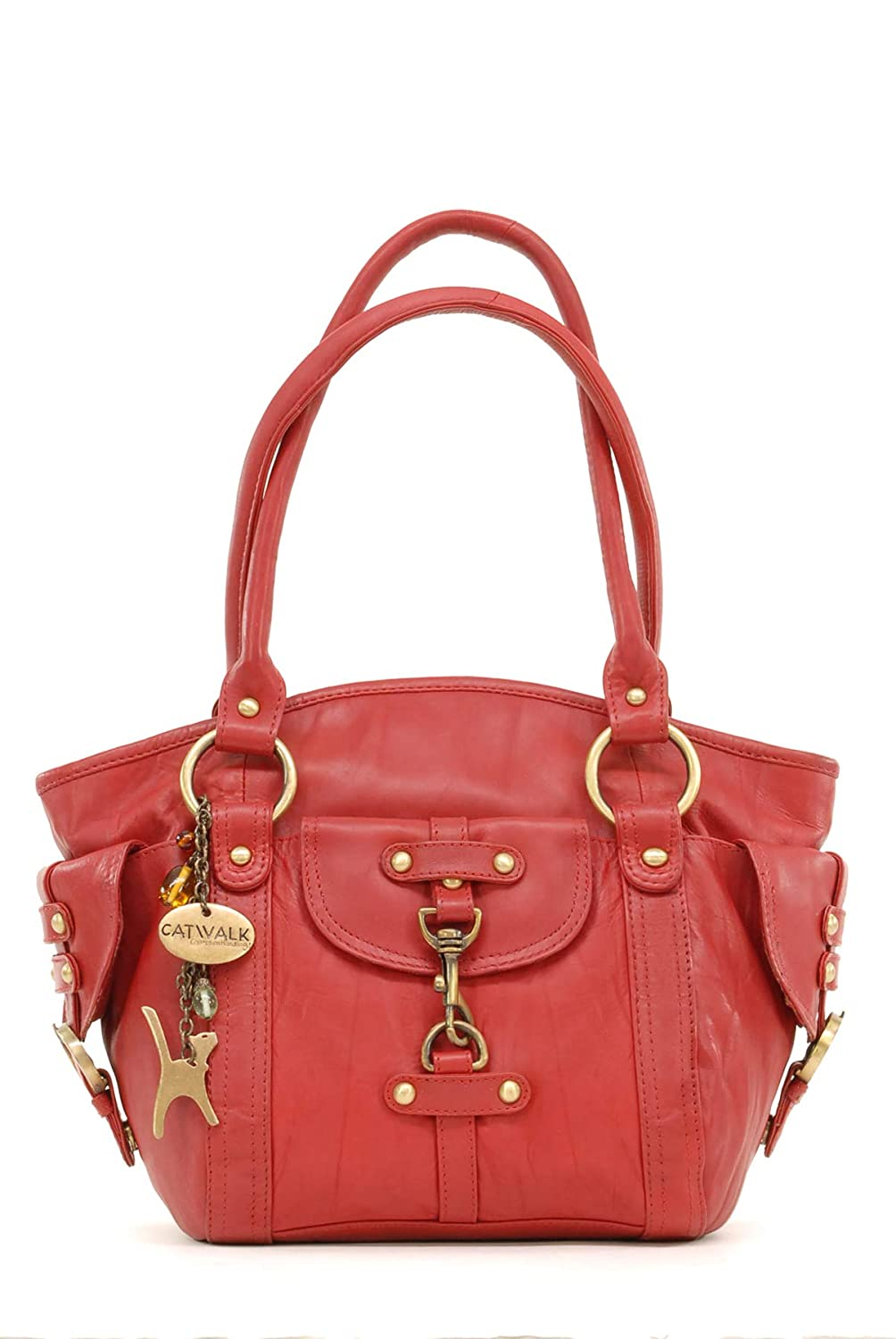 Catwalk Collection Leather Handbag - Karlie Catwalk Collection Handbags 5060167683770 B001QQOTB8