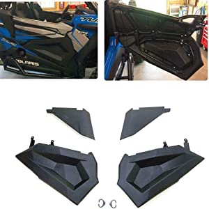 RZR Lower Half Door Inserts Panels with OEM Style Frame Works for 2015-2019 Polaris RZR XP 1000 / Turbo/S