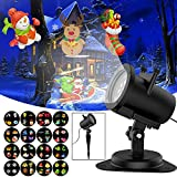Led Light Projector Halloween Sanwsmo 6W Waterproof IP65, Outdoor/Indoor Switchable Slides Moving Rotating Projector Led Lights for Christmas Weding Holiday Party Home Decoration Lamp (6W) For Sale
