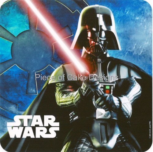 1/4 Sheet ~ Star Wars Darth Vader Closeup Birthday ~ Edible Image Cake/Cupcake Topper!!!