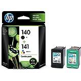 HP 140/141 黒・カラーパック