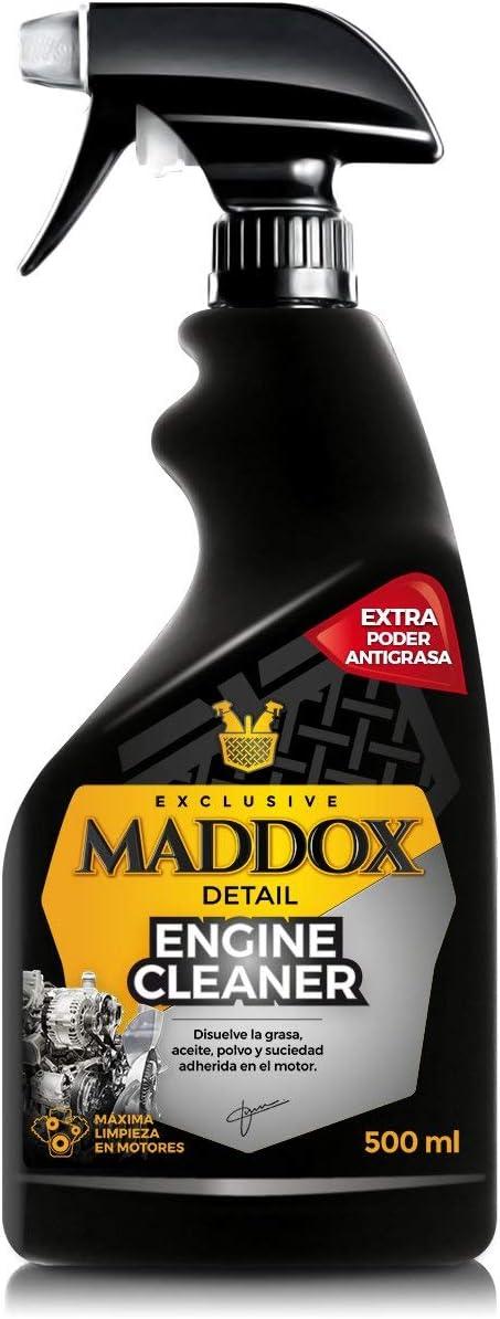 Maddox Detail - Engine Cleaner - Limpiador de Motores. Disuelve la Grasa, Aceite, Polvo y Suciedad adherida en el Motor. (500ml)