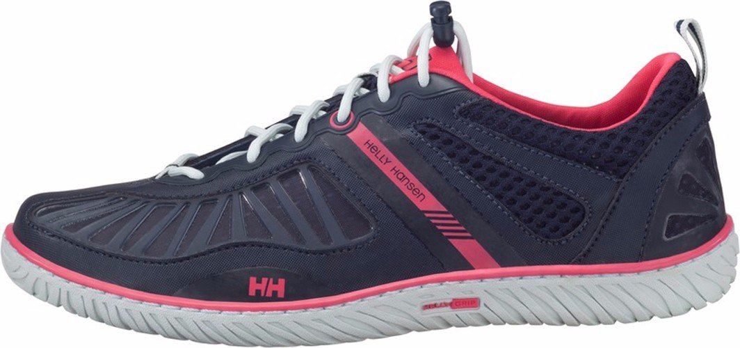 Helly Hansen Women's W Hydropower 4 Water Shoe, Navy/Magenta/Silver/White, 9 M US