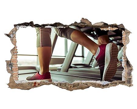 tekkdesigns S544 Mujer Cinta de Correr Ejercicio Ajuste Smashed ...