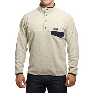 53403d7745dd Patagonia Synchilla Snap-T Fleece Pullover - Men s Oatmeal Heather ...