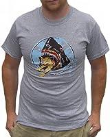 Saul Silver Shark Eats Kitten T-Shirt Pineapple Express Cat This Is The End