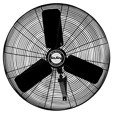 Air King 9025 24 Industrial Grade Oscillating Wall Mount Fan