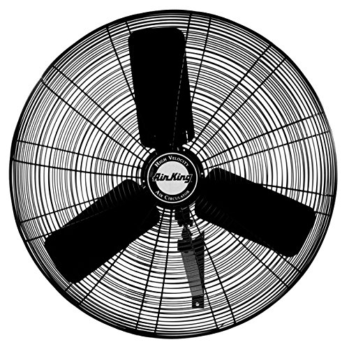 (Air King 9025 24-Inch Industrial Grade Oscillating Wall Mount Fan)