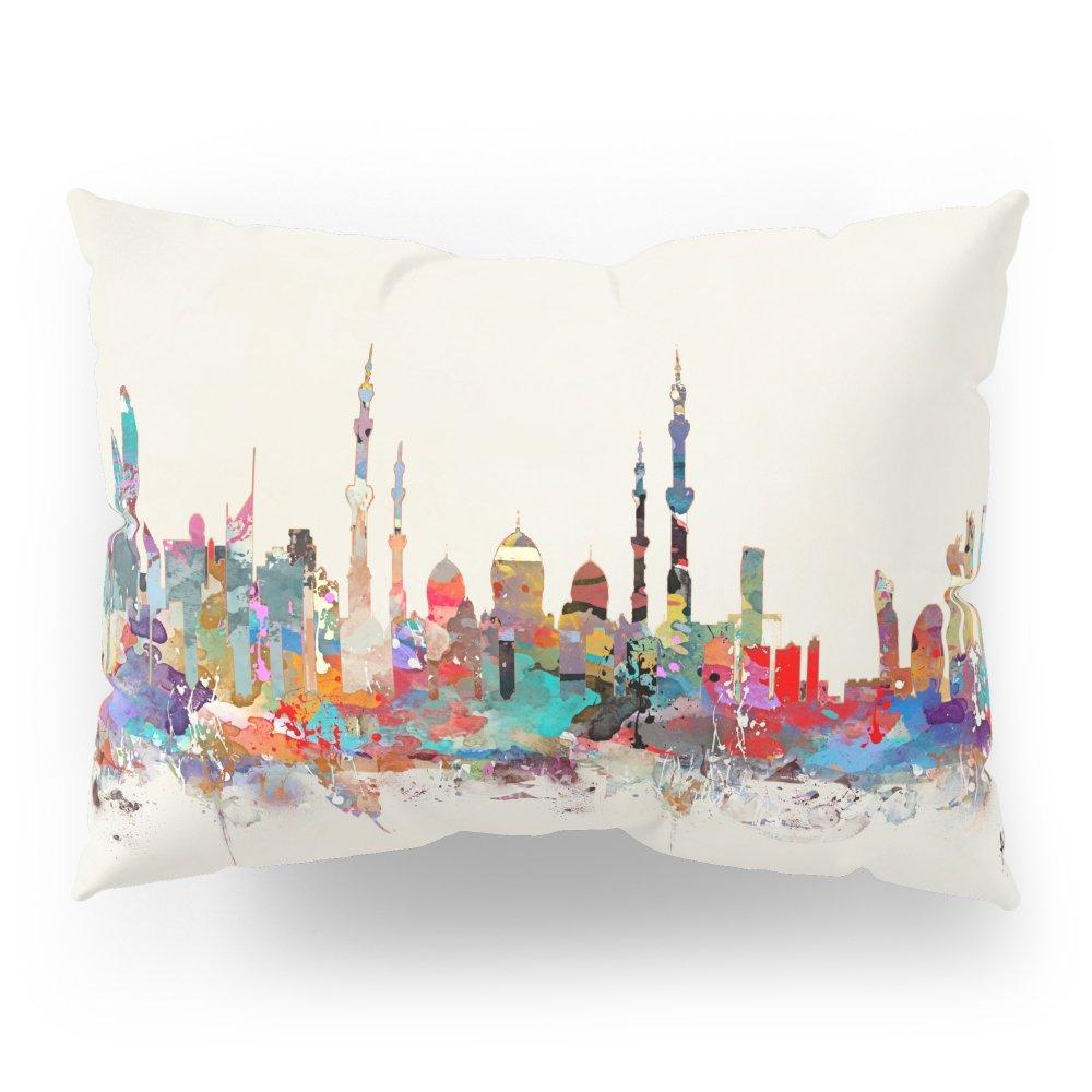 Society6 Abu Dhabi Skyline Pillow Sham Standard (20'' x 26'') Set of 2
