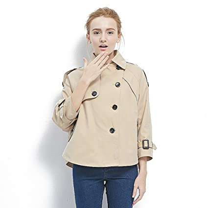 Amazon.com: LI SHI XIANG SHOP Spring loose jacket women ...