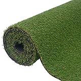 SKB Family Artificial Grass 3.3'x26.2'/0.8''-1'' Green Indoor Outdoor arden Wedding Decor