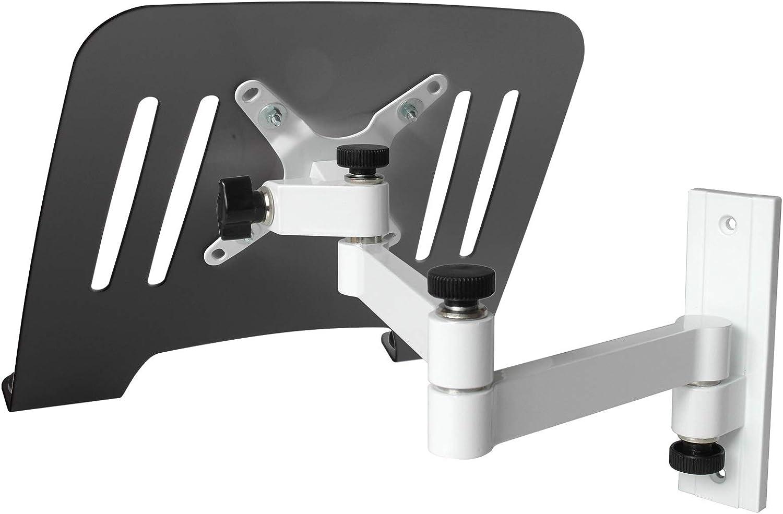 Drall Instruments Laptop Wandhalterung Halterung Weiß Elektronik