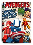 The Avengers Captain America Lego and Friends Light Switch Cover