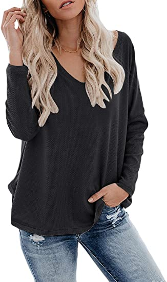 New Womens Shirt Long Sleeves OFF The Shoulder Loose Batwing TOP *Batwing