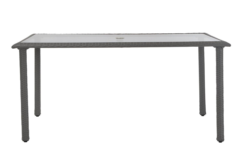 Cosco Outdoor Living 88598GBLE Cosco Outdoor Dining Table Gray Blue