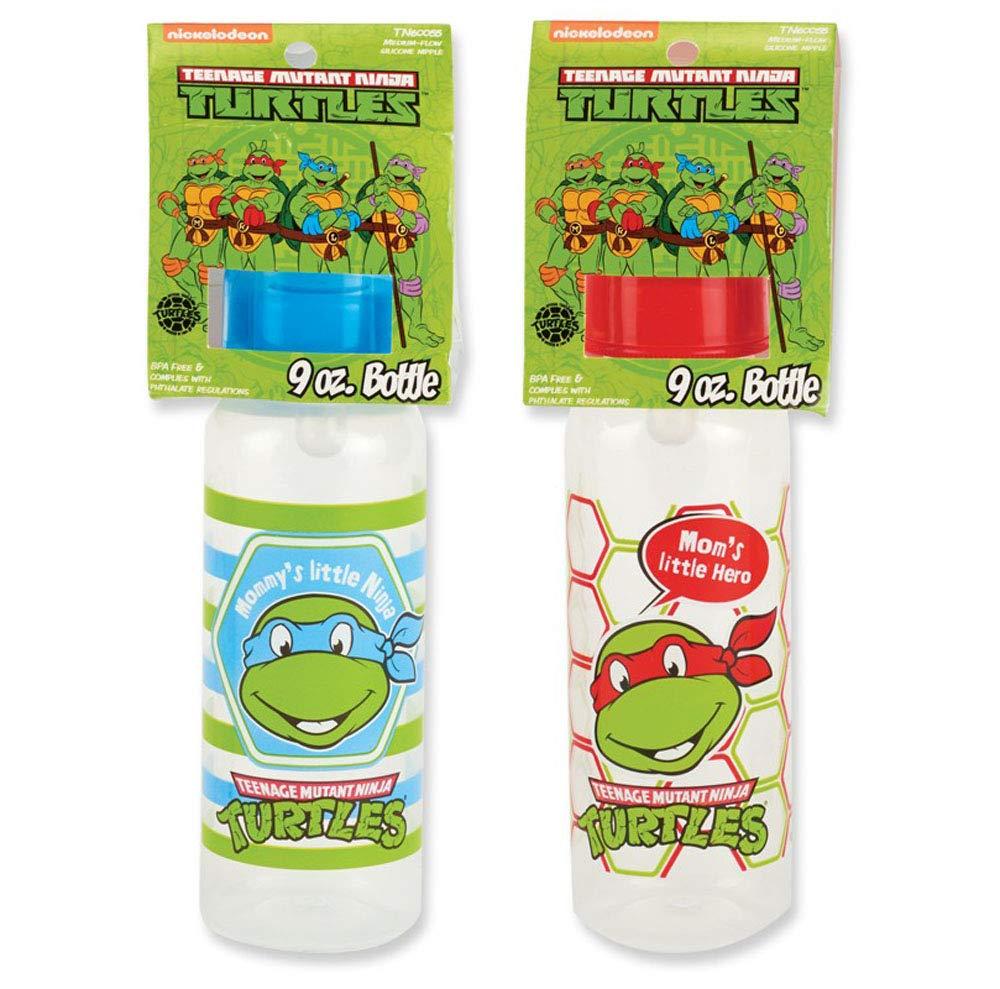 Amazon.com: Nickelodeon Ninja Turtles – Botellas de bebé ...