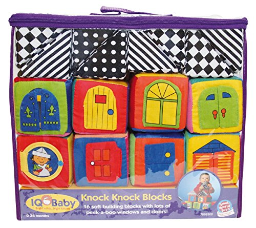 Small World Toys IQ Baby - Knock-Knock Blocks by IQ Baby