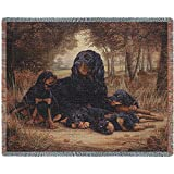 Pure Country 1141-T Gordon Setter Pet Blanket, Various Blended Colorways, 53 by 70-Inch