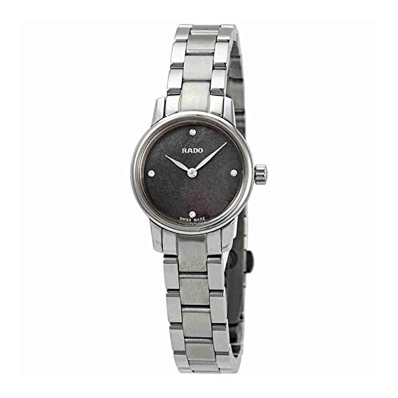 Rado Frauen Armbanduhr Coupole Classic Quarz Diamanten