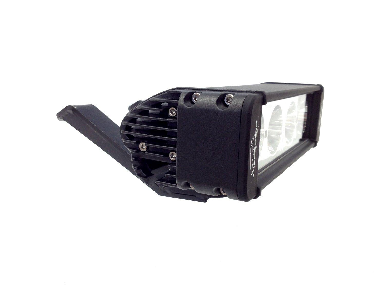 Lazer Star 10 Inch 10 Watt Spot 4 LED 9993021 LX ATV Handlebar Kit