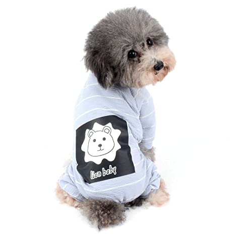 Ranphy 2018 - Pijama de punto para perros pequeños y gatos ...