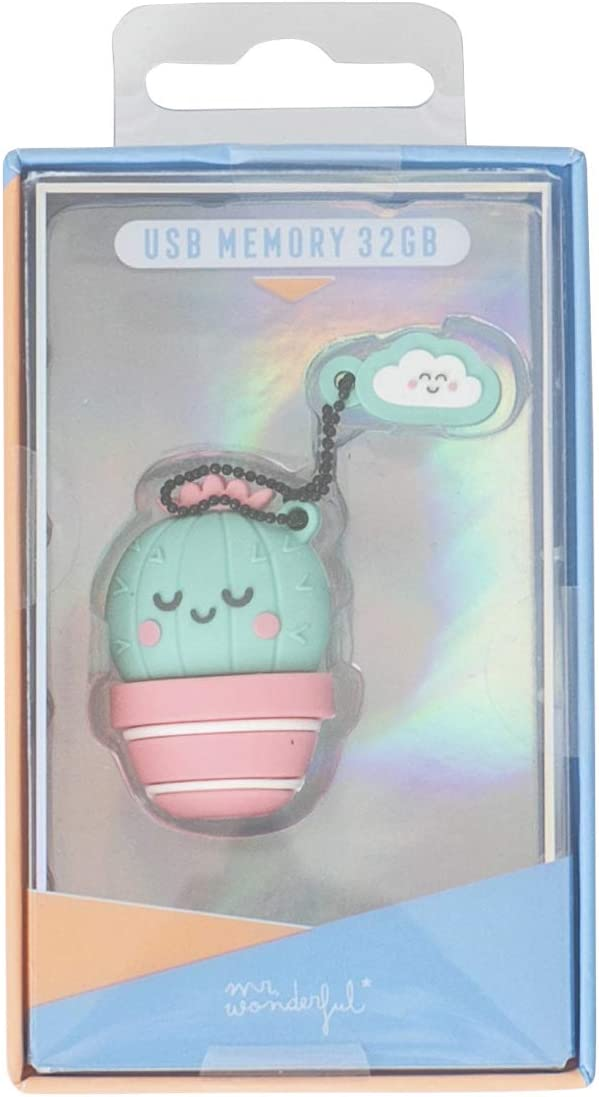 Pendrive de 32 Gigabytes Mr Wonderful de Cactus