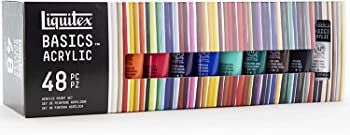 Liquitex BASICS 48 Tube Acrylic Paint Set