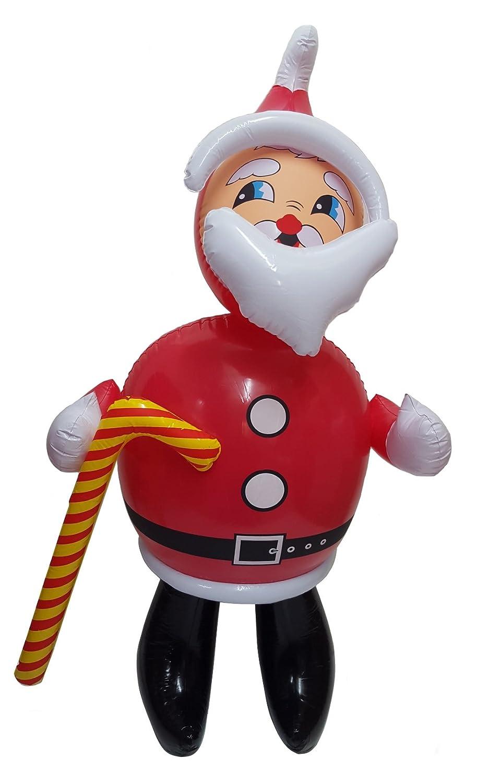 W059 hinchable de Papá Noel de Papá Noel 107 cm tamaño ...