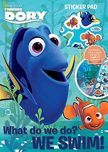 Disney Pixar's Finding Dory Sticker Pad Activity Set